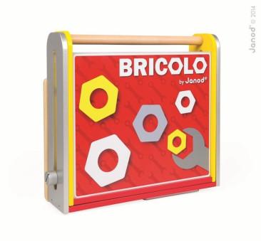 Warsztat z narzędziami składany Bricolo - Janod