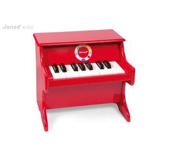 Czerwone pianino Confetti - Janod.