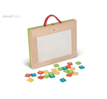 Magnetyczna walizeczka tablica 4w1 - Janod