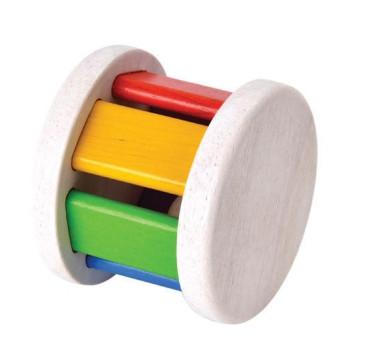 Drewniana grzechotka Roller - Plan Toys