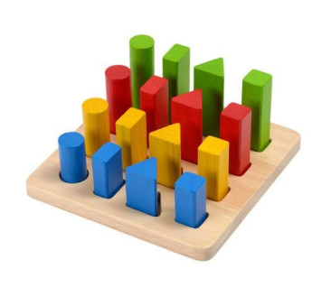 Plansza do sortowania - Plan Toys