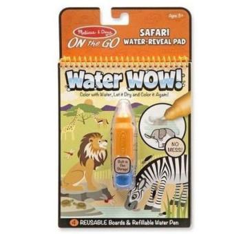 Safari - Malowanie Wodą - Water Wow!- Znikające Kolory - Kolorowanka Wodna - Melissa & Doug