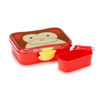 Pudełko Śniadaniowe - Śniadaniówka - Zoo Małpa - Skip Hop