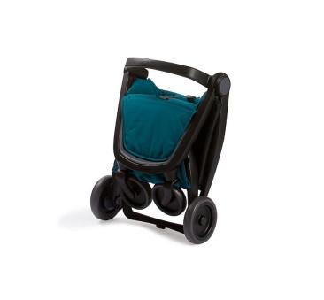 Wózek Greentom Upp Classic - black - teal(petrol) / czarno - butelkowy