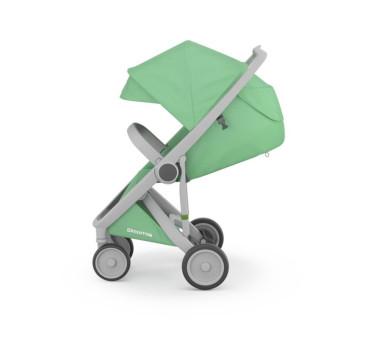 Wózek Greentom Upp Classic - grey - mint / szaro - miętowy