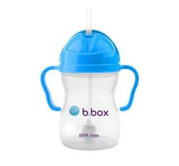 Innowacyjny kubek niekapek - niebieski- B.BOX