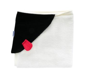 Bambusowy ręcznik z uszkami MRB 130x65 cm - LullaLove