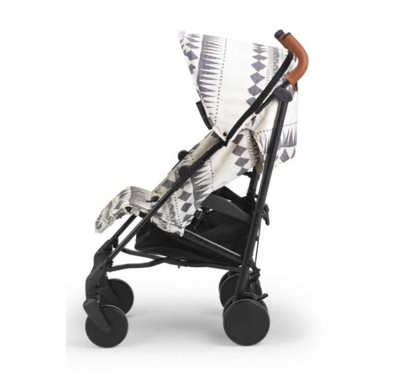 Wózek spacerowy Stockholm Stroller Graphic Devotion - Kremowo - Szary - Elodie Details
