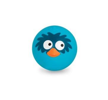 Sprężysta piłka wydająca ptasie odgłosy - niebieska - BTOYS