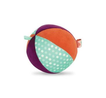 Pluszowa piłka sensoryczna z dzwoneczkiem w środku - BTOYS