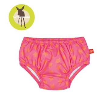 Lassig Majteczki do pływania z wkładką chłonną Peach Stars UV 50+ - 6 mc - Lassig