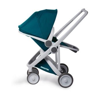 Wózek Greentom Upp Reversible - grey - teal(pertol) / szaro - butelkowy