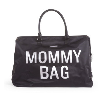 Torba podróżna Mommy Bag - czarna - Childhome