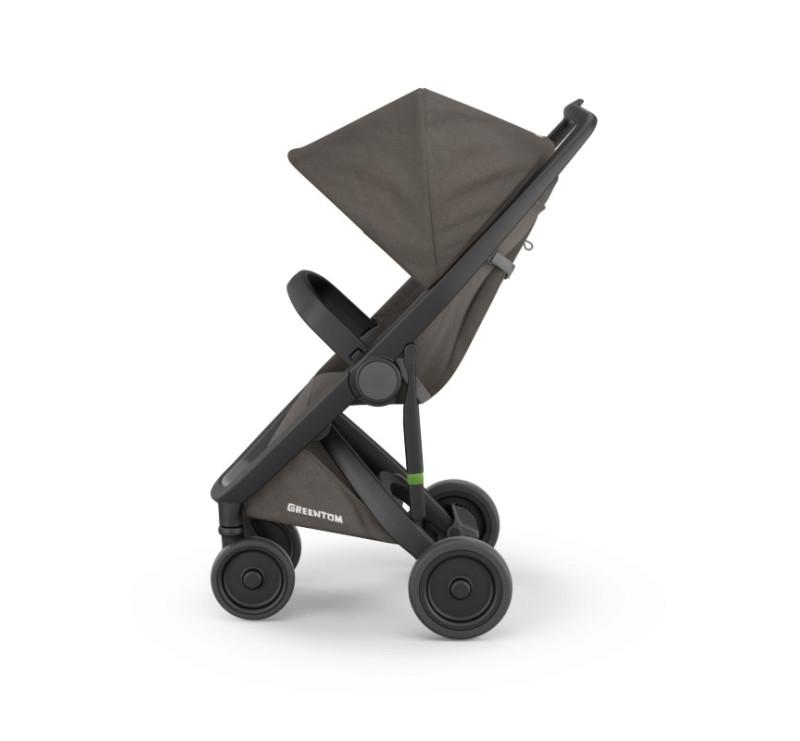 Wózek Greentom Upp Classic black - charcoal / czarno - ciemnoszary - edycja limitowana 2017