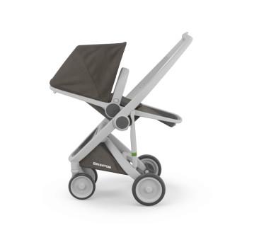Wózek Greentom Upp Reversible - grey - charcoal / szaro - ciemnoszary - edycja limitowana 2017