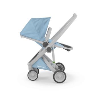 Wózek Greentom Upp Reversible - grey - sky / szaro - błękitny - edycja limitowana 2017