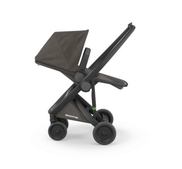 Wózek Greentom Upp Reversible - black - charcoal / czarno - ciemnoszary - edycja limitowana 2017