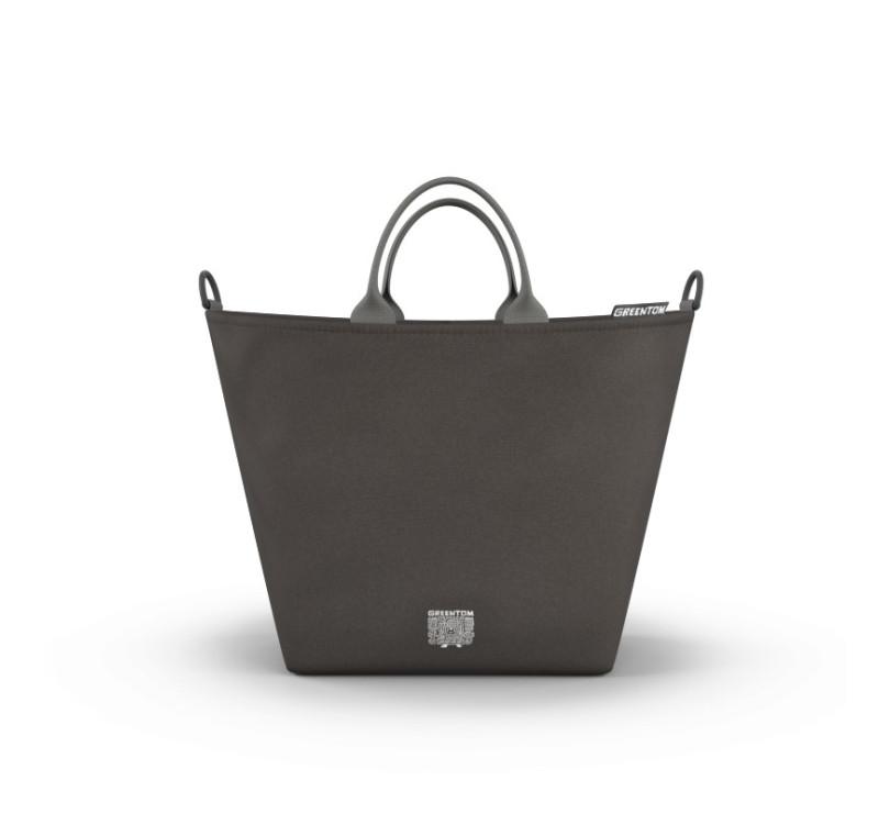 Greentom - Shopping bag - Torba zakupowa do wózka - charcoal/ciemny szary - edycja limitowana 2017