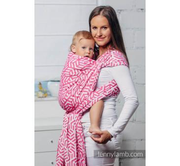 Moja druga chusta do noszenia dzieci - TURMALIN, splot żakardowy - Rozmiar M - LennyLamb
