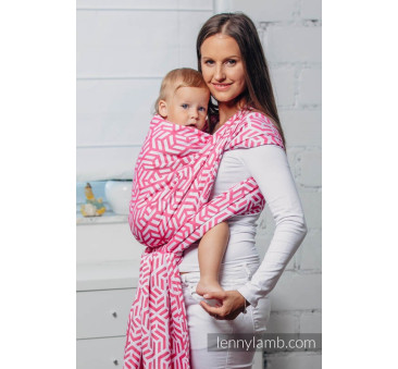 TURMALIN M - Moja druga chusta do noszenia dzieci - splot żakardowy - Rozmiar M (4,6 metra) - LennyLamb