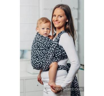 HEMATYT M- Moja druga chusta do noszenia dzieci - splot żakardowy - Rozmiar M (4,6 metra) - LennyLamb