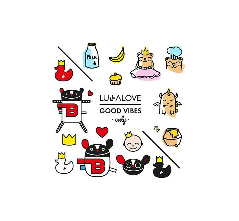 Zestaw tatuaży zmywalnych - LullaLove