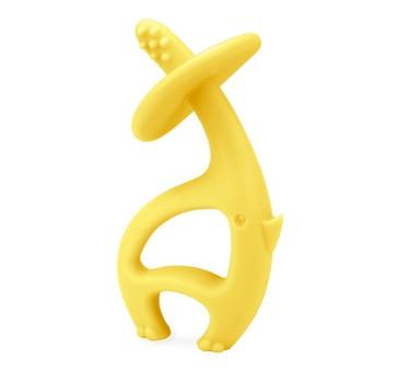 Gryzak - Dancing Elephant Lemon - Słoń żółty - Mombella