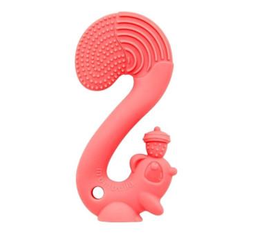 Gryzak Zabawka - Squirrel Red - Wiewiórka czerwona - Mombella