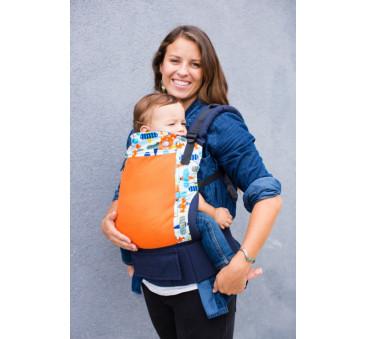 BABY TULA - nosidełko standardowe - wzór Coast Pilot