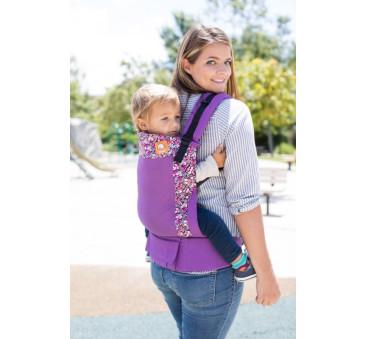 BABY TULA - nosidełko standardowe - wzór Coast Hyacinth
