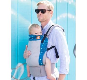 BABY TULA - nosidełko standardowe - wzór Coast Blue Peaks