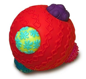 Kula sensoryczna z piłkami - Ballyhoo - Wersja Czerwona - BTOYS
