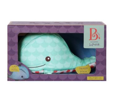 Szumiący i świecący Wieloryb dla niemowląt - Glow Zzz Whale - BTOYS