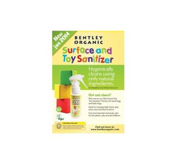 Dziecięcy płyn/spray dezynfekujący do mycia zabawek - MINI 50 ml- Bentley Organic