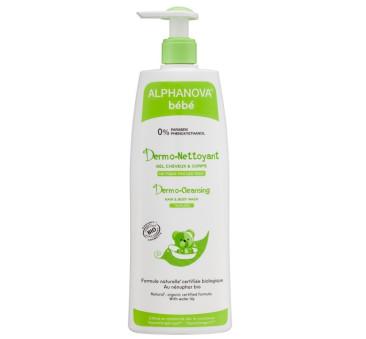 Dermo - Żel do mycia ciała i włosów - 500 ml - Alphanova Bebe