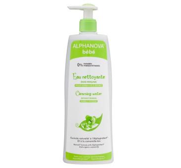 Woda micelarna do mycia skóry atopowej - 500 ml - Alphanova Bebe