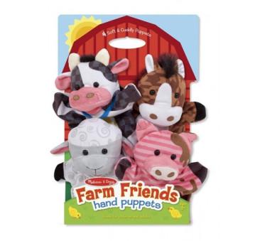 Pacynki zwierzątka Farma - Melissa & Doug