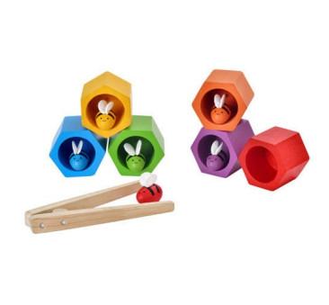 Plaster miodu z pszczółkami zabawka zręcznościowa - Plan Toys - Montessori