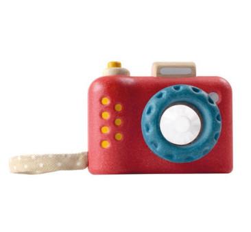 Aparat drewniany z kalejdoskopem - Plan Toys - Montessori
