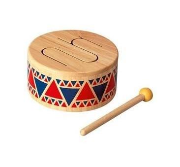 Bębenek drewniany - Plan Toys - Montessori