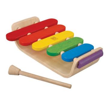 Drewniany ksylofon - Cymbałki Dzwonki - Plan Toys - Montessori