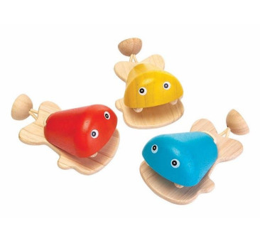 Kastaniet Rybki - Plan Toys - Montessori