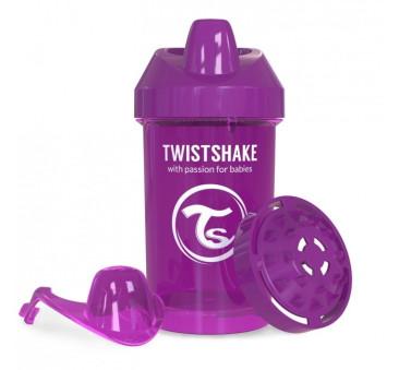 Kubek niekapek z mikserem do owoców,fioletowy 300ml - Twistshake