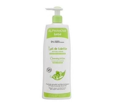 Organiczne mleczko z oliwą do mycia niemowląt -500 ml - Alphanova Bebe