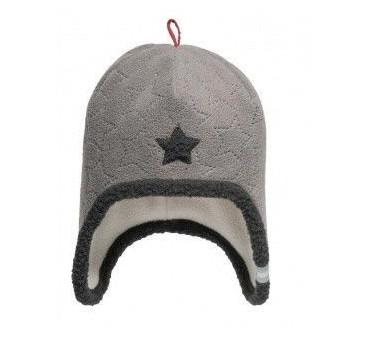 Czapka Star Greige - Szara 6-12 miesiąc - Lodger