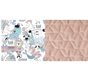 Angel's Wings - La Millou Family Vol. II - Powder Pink - La Millou - Velvet Collection - poduszka stabilizacyjna