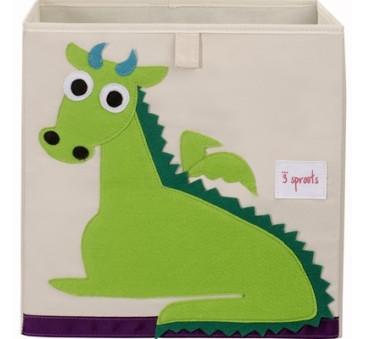 Pudełko na zabawki - Smok - 3 Sprouts