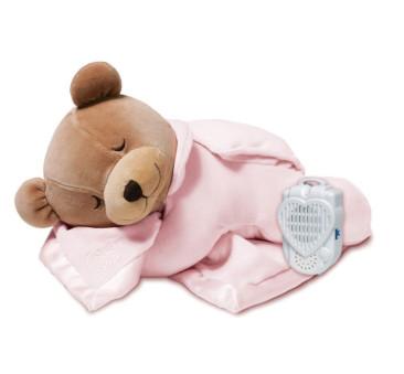 Miś z pozytywką i przytulanką Silkie - Pink/Różowy - Prince Lionhearts