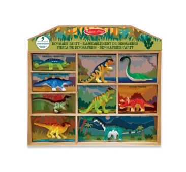 Zestaw 9 figurek Dinozaury - Melissa & Doug