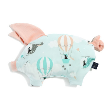 Podusia Sleepy Pig - Miss Cloudy - Powder Pink - La Millou - Velvet Collection